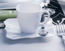 Сервиз за чай Luminarc Authentic, бял, 12 части