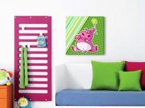 """Детска картина пано """"Хипопотамче"""", 60 * 50 см 7653 - Pochehli"""
