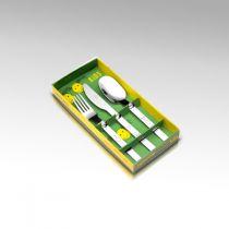 Детски комплект прибори за хранене Turini, 3 части, Herdmar