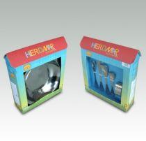 Детски комплект за хранене Animals, 6 части, Herdmar