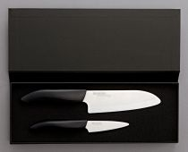 Комплект керамични ножове в кутия, Kyocera