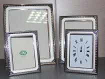 Посребрена рамка за снимки с орнаменти, 3 размера