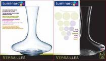 Декантер Luminarc Versailles 1,5 л 19183