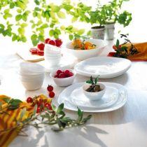 Сервиз за хранане Luminarc Carine, бял 19 части