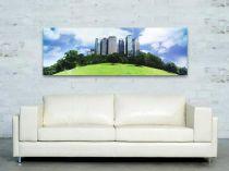"""Картина пано """"Небостъргачи"""", 150 * 50 см 6365 - Pochehli"""