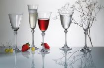 "Чаши за шампанско ""Александра"", 6 бр., 190 мл, Crystalite Bohemia 45292"