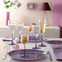 Чаши за вино Luminarc Sweet Lilac, 4 бр. * 250 мл