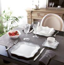 Сервиз за хранене Luminarc Authentic Silver White