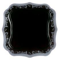 Luminarc Authentic Silver BlackСервиз за хранене Luminarc Authentic Silver Black чиния десерт