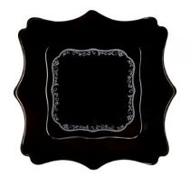 Luminarc Authentic Silver BlackСервиз за хранене Luminarc Authentic Silver Black дълбока чиния