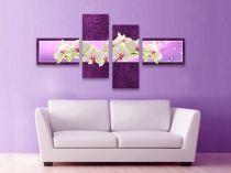 """Картина пано """"Орхидеи в лилаво"""" 5743 - Pochehli"""