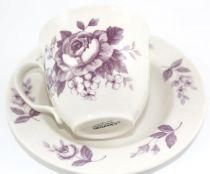 Сервиз за кафе и чай Лилав разкош, Claytan