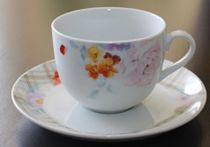 """Сервиз за чай """"Цветна градина"""", 12 части, порцелан 27156"""