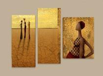 Картина пано Пустинни цветя 5774 - Pochehli