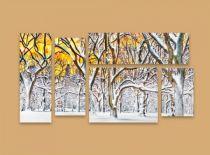 Пано заснежени дървета 8265 - Pochehli