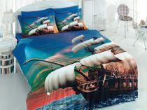 Спално бельо Кораб,  3Д