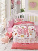Бебешки спален комплект Момиченце