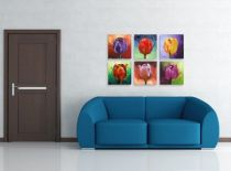 Картина Рисувани лалета