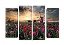 Картина пано Пейзаж от Холандия 8311 - Pochehli