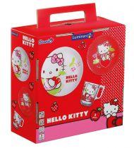 Детски сервиз за хранене Hallo Kitty 3 части, Luminarc