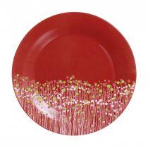Порционна чиния Flowerfield Red Luminarc 25 см
