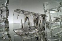Кристални чаши за алкохол, Зиг Заг Бохемия 8407 - Pochehli