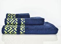 Хавлиена кърпа Алия, тъмно синьо, Панагюрище 1962 6167 - Pochehli