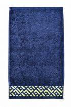 Хавлиена кърпа Алия, тъмно синьо, Панагюрище 1962 6988 - Pochehli