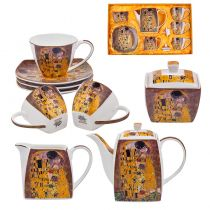 Сервиз за чай и кафе Целувката, 9 части, Lancaster 11877 - Pochehli