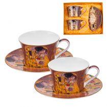 Комплект чаши за чай и кафе Целувката, Lancaster