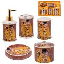 Комплект аксесоари за баня Целувката, Lancaster 11401 - Pochehli