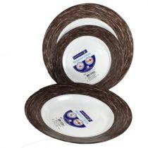 Сервиз за хранене Color Days Chocolate от Луминарк