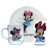 Детски сервиз за хранене Luminarc Minnie Mouse, Disney