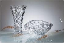 Ваза Honey Comb 35 см, Crystalite Bohemia 6584 - Pochehli