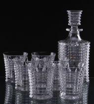 Кристален сервиз за уиски Bohemia Blade 9101 - Pochehli