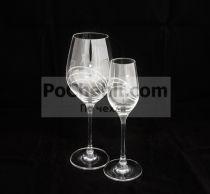 Чаши за вино с камъни Сваровски 5137 - Pochehli