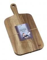 Дъска за рязане от акациево дърво 42*21*2 см, Jamie Oliver 6007 - Pochehli