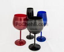 Чаши за вино Gastro 6 бр., цветни, Crystalite Bohemia 5584 - Pochehli