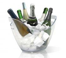 Охладител за 6 бутилки, прозрачен, Vin Bouquet
