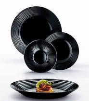 Сервиз за хранене Harena Black Luminarc, 19 части 8388 - Pochehli