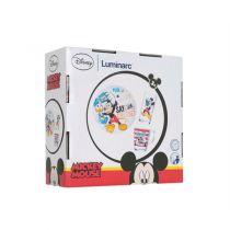 Детски сервиз за хранене Luminarc Mickey Party 35560