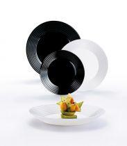 Сервиз за хранене Harena Black&White Luminarc, 18 части