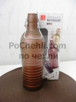 Бутилка с метален механизъм Officina 1825 Bronzo, Bormioli Rocco 6822 - Pochehli