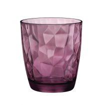 Чаши за уиски Diamond Rock Purple, Bormioli Rocco 5561 - Pochehli