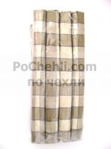 Подложки за хранене + платнени салфетки, сиво-бежово 5546 - Pochehli