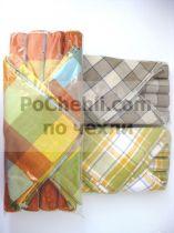Подложки за хранене + платнени салфетки, сиво-бежово 7813 - Pochehli