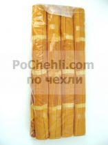 Подложки за хранене + платнени салфетки, оранжево
