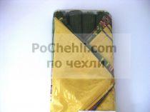 Подложки за хранене + платнени салфетки, зелено и жълто 5434 - Pochehli