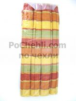 Подложки за хранене + платнени салфетки, цветно рае