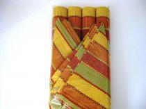 Подложки за хранене + платнени салфетки, цветно рае 5995 - Pochehli